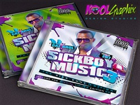 Sickboy Music - Mixtape CD Cover (.psd)