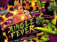 Jungle Fever Music - Mixtape CD Cover (.psd)