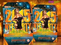 NYE - New Year Eve Flyer Template