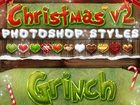 Christmas Photoshop Styles V2 - Text Effects