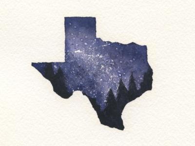 Starry Night - Texas