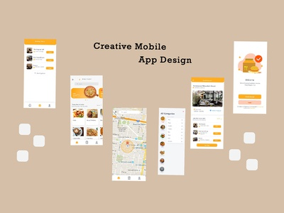 Food app design food app design website design graphic design ui
