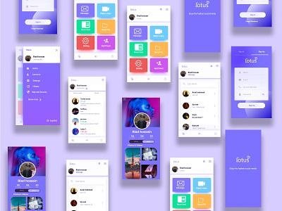Social media app design corporate flyer home page doctor app design illustration landing page graphicdesign design landing page design ui app design corporate design website design landing page