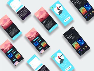 Creative app design design ui graphicdesign landing page design app design corporate design website design landing page