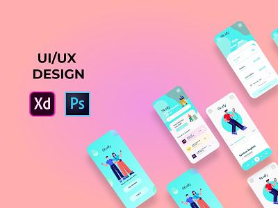 E study app design crearive app mobile app mobile app design creative design graphicdesign design landing page design app design corporate design ui website design landing page