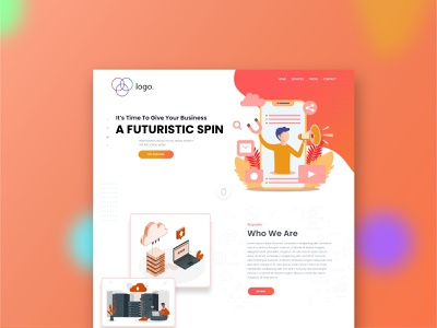 A business agency landing page design corporate design landing page design website design designer ux ui app design corportate design landing page website agency website apency agency app