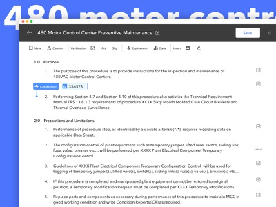 Instruction Editor editor document app text edit