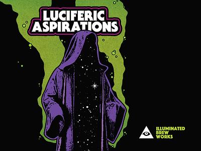 Luciferic Aspirations magic print galaxy ibw beer
