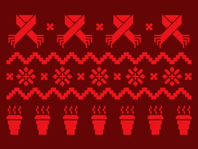 Ugly Christmas Sweaters Patterns.Ugly Christmas Sweater By Jordan Versluis On Dribbble