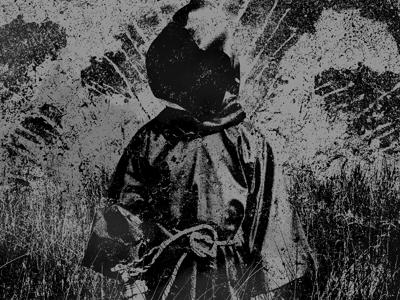 Them Thieves album art packaging layout grunge texture dark