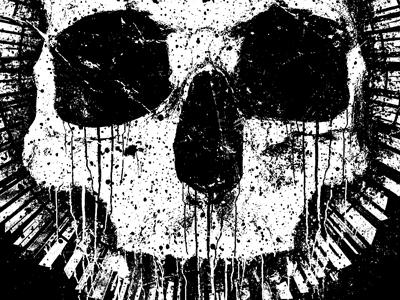 Nightmares apparel t-shirt merch grunge texture haunted house