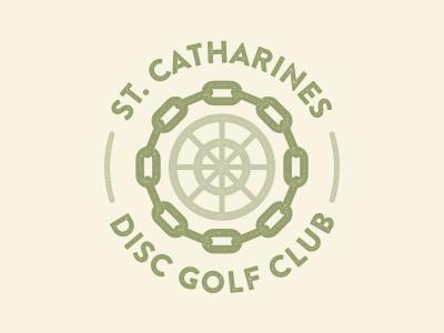 St. Catharines Disc Golf Club logo identity brand disc golf st. catharines niagara
