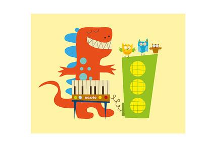 MUSICA PARA LECHUZAS ilustrator