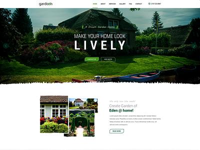Gardening Homepage