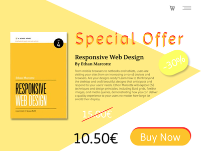 Daily UI Challenge#036 : Special Offer offers dailyuichallenge036 dailyui36 dailyui036 special offer offer web dailyui ui design dailyuichallenge
