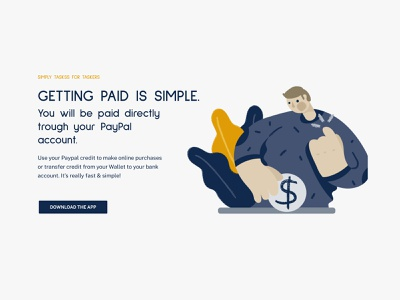 Simply Tasks > UI Design web design website vienna austria sahar ui8 minimalist design logodesign minimalistic ui design uidesign ui illustrations/ui illustrations