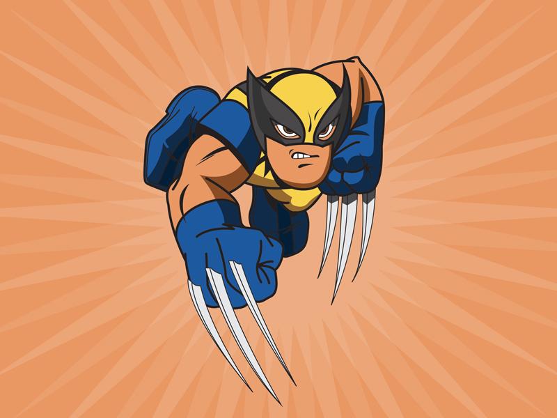 Wolverine illustration comics marvel wolverine