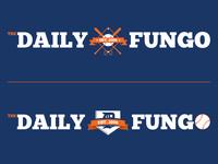 Daily Fungo Logo Concepts