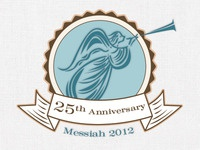 Messiah 25th Anniversary Logo