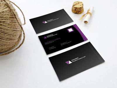 Free Black N Purple Business Card Design motion graphics graphic design 3d logo mockup new branding modern download mockup photos animation design card business purple n black free