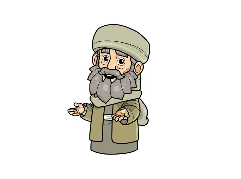 Arabian Companion Vol 2 resident lecture religion arab companion muslim islam vector character cartoon envatoelements envato doodle artwork illustration character design graphic design