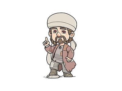 Arabian Ambassador Vol 1 advisor resident friend male ambassador religion arab muslim islam vector character cartoon envatoelements envato doodle artwork illustration character design graphic design