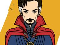 Marvel - Doctor Strange artwork comic magician marvel superhero