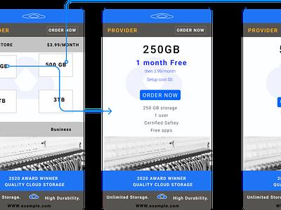 UI Design -  Cloud storage App. figma design cloud app mobiledesign mobile ui uiux figma