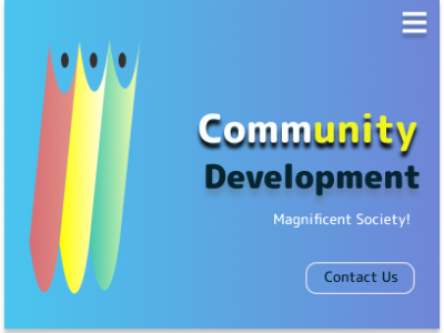 Landing page - Illustration websites websitdesign landing page contact us development community vector ui illustration branding colorful figma figmadesign design