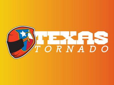 Texas Tornado texas motogp helmet illustration banner