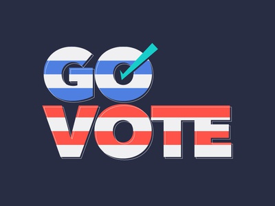 Go Vote type america vote