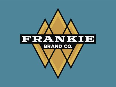Frankie Two Tone stickermule diamonds logo classic holographic rebound