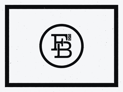 Frankie Brand Co. Alternative Badge gritty monogram texture icon branding logo mark vintage mark cincinnati logo