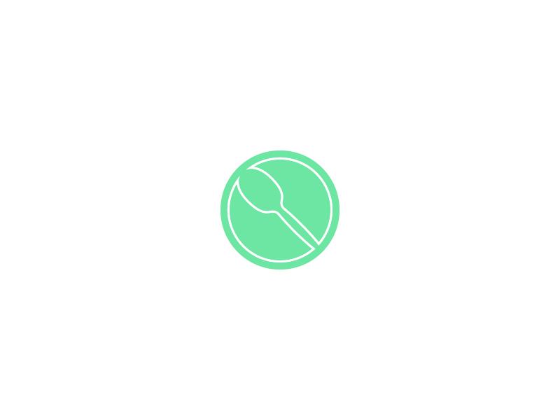 Spooooooooons handmade wooden craft icon logo spoon instagram novelmarks logo mark mark