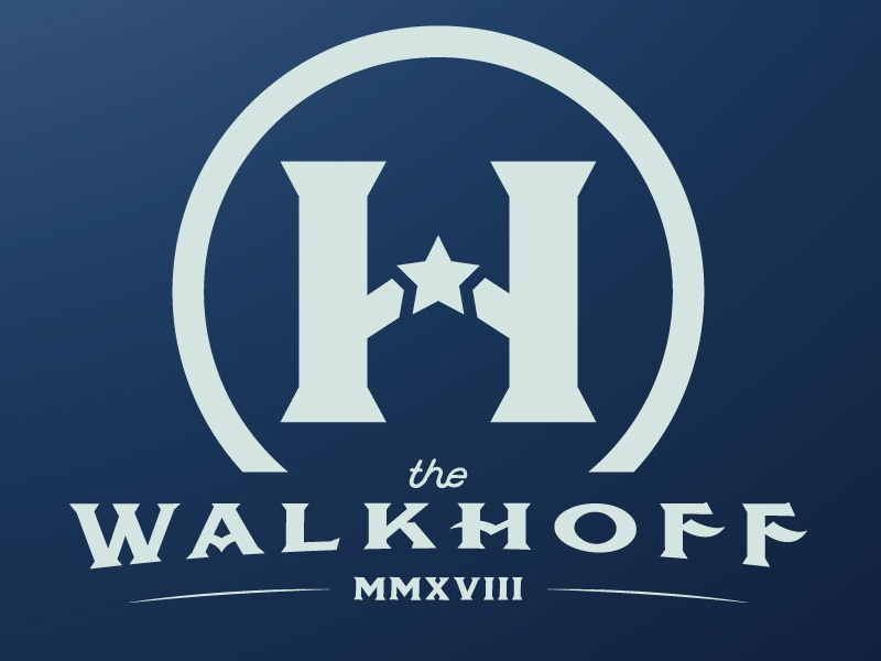 The Walkhoff | Fantasy Baseball mark cincinnati team fantasy baseball baseball branding typography pun roman numerals 2018 sports mark logo