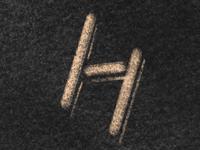 Hand drawn H