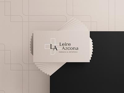 Leire Azcona Pharmacy identity identidadvisual brand salud healthdesign pharmacy farmacia branding design logo graphicdesgn diseñografico
