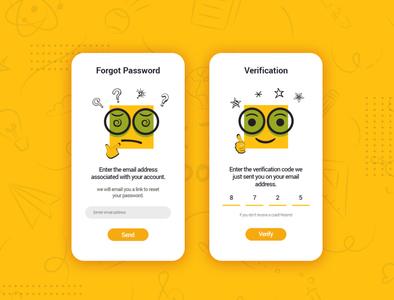 Login Verification Screens