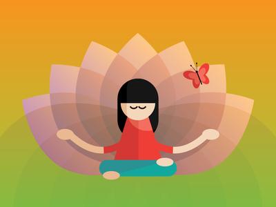 Kundalini Yoga Illustration