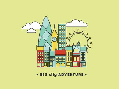 Big City Infographic Detail