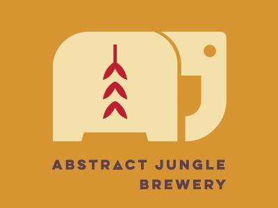 Abstract Jungle Logo