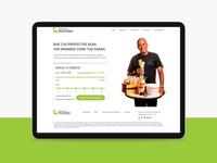 Banco Provincia - Microcreditos proposal sketch web design ui ux