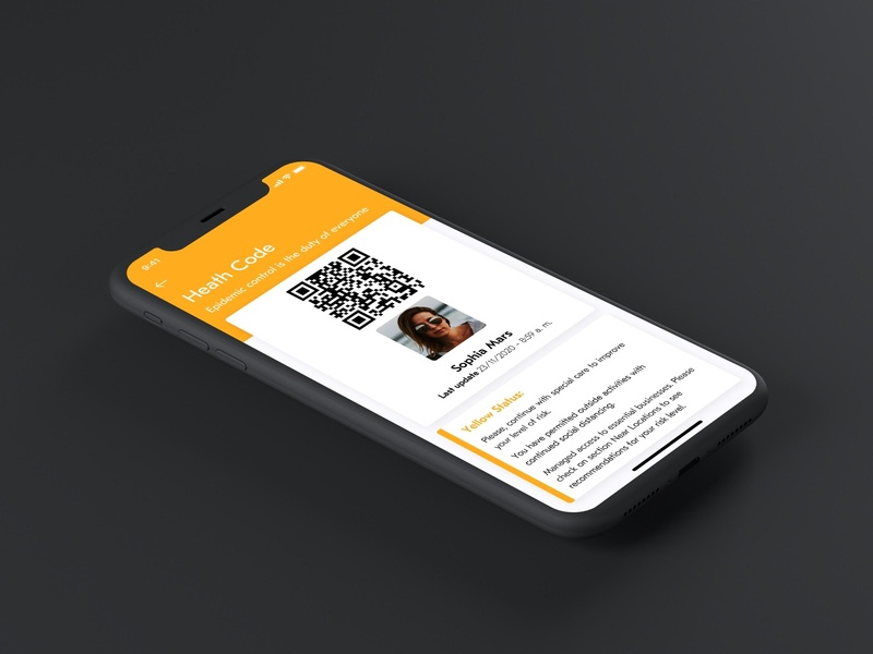 VÒS - Virus Oversight System proposal covid19 app sketch ios mobile design ui ux