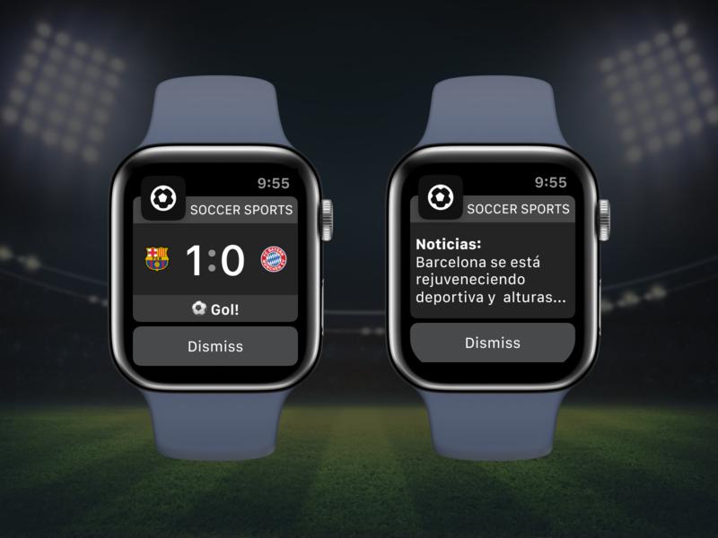 Soccer Apple Watch Widget soccer app sports game match soccer apple proposal ios mobile watch app sketch ui design ux