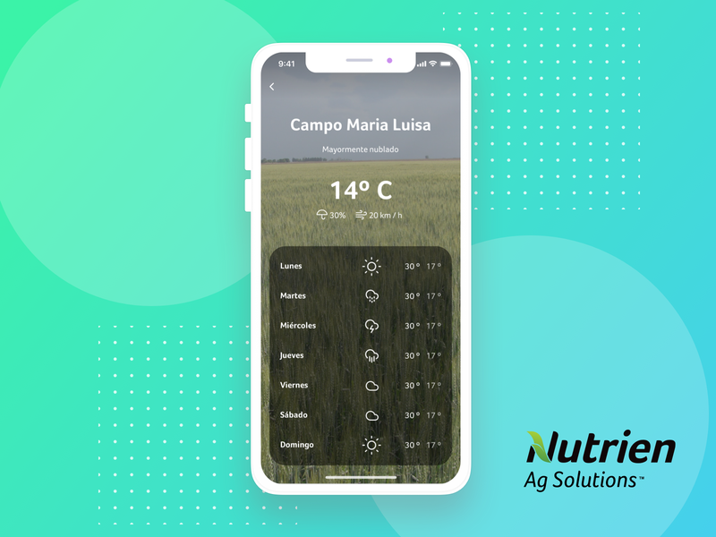 Weather IOS farmer web weather ios ui design sketch mobile ux