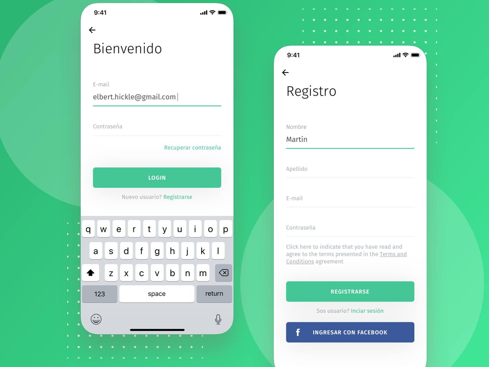 Login Proposal app product design proposal ux ui register login mobile design snakefooc sketch