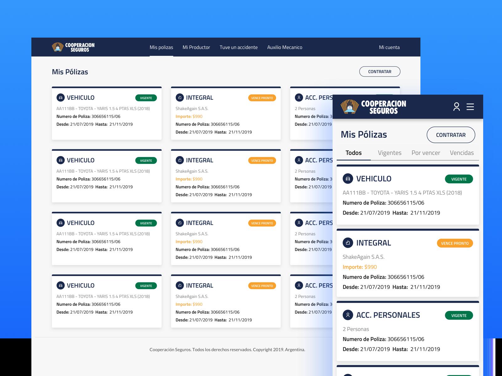 Insurance Web Admin Responsive admin responsive web design sketch
