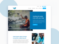 Water Foundation Proposal Landing Page