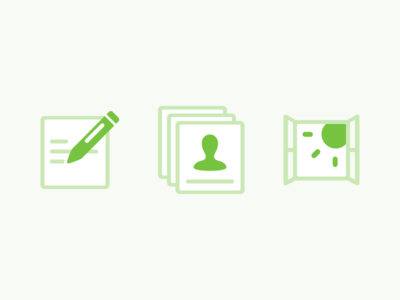 Step Icons sketch vector icons