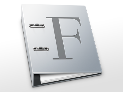Font Book icon font book replacement